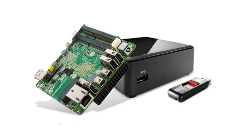 Intel NUC, which are ideal for using for a Home Lab