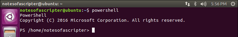 PowerShell on Linux