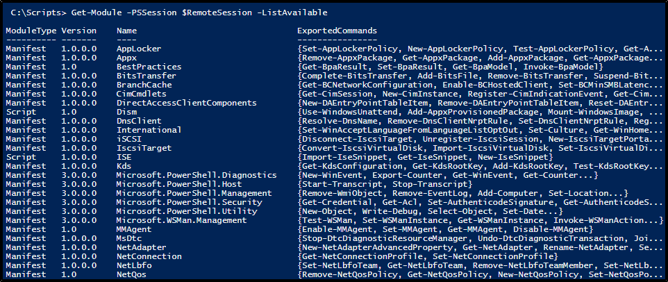 Loading Modules from Remote Server with PowerShell - Notes of a scripter