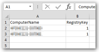 Registry keys from remote servers