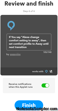 Automation With Ecobee3 And Alexa Notes Of A Scripter