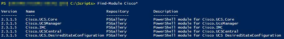 Find-Module Cisco*