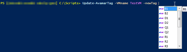 Update VM Tags with a Custom Function